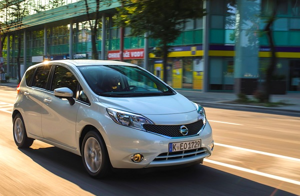Nissan Note Europe September 2014 Picture courtesy of largus.fr