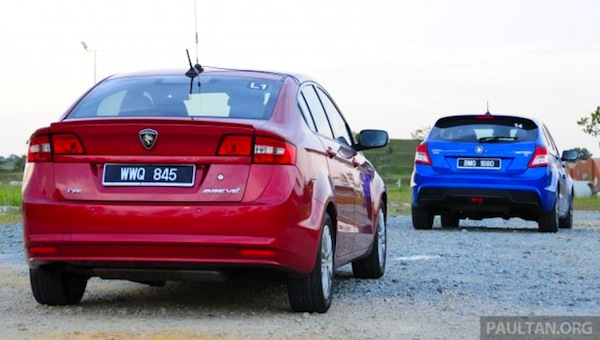 Proton Suprima S and Preve Malaysia October 2013