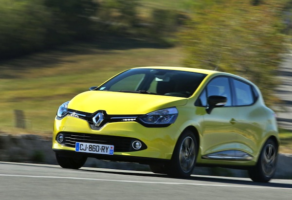 Renault Clio IV Belgium October 2013. Picture courtesy of largus.fr