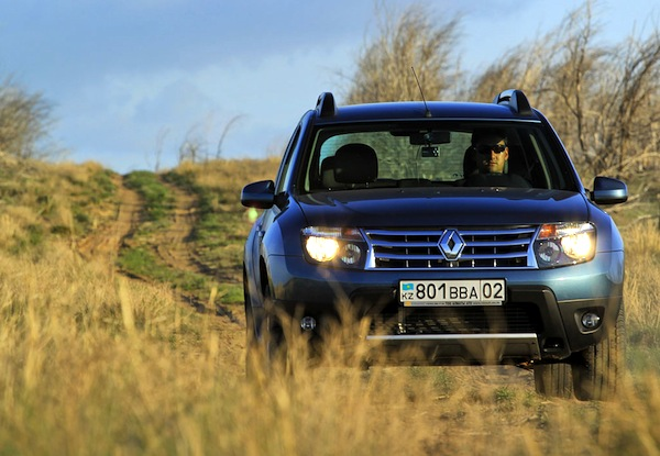 Renault Duster Kazakhstan May 2014. Picture courtesy of Ilva Davidovich idphoto.kz copy