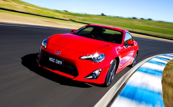 Toyota 86 Australia October 2013. Picture courtesy of caradvice.com.au