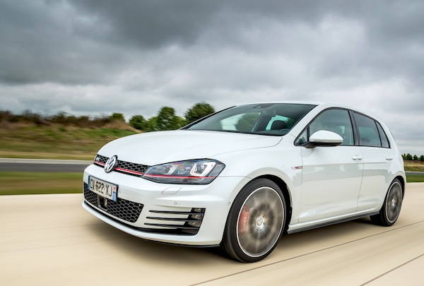 VW Golf Belgium October 2013. Picture courtesy of largus.fr