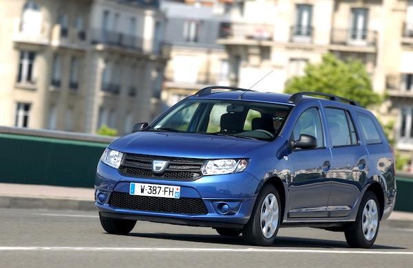 Dacia Logan MCV. Picture courtesy of largus.fr