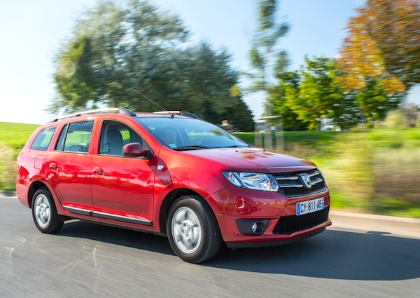 Dacia Logan MCV Romania June 2014. Picture courtesy of largus.fr