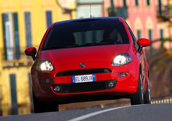 Fiat Punto Bosnia Herzegovina November 2013