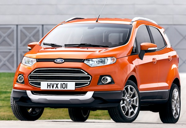 Ford Ecosport Germany November 2013