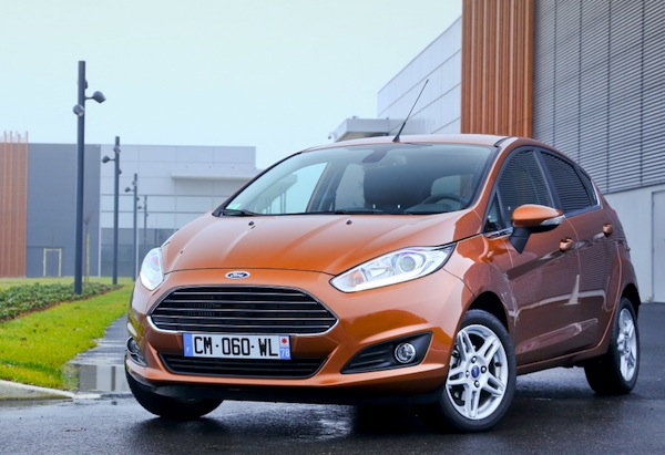 Ford Fiesta New Caledonia February 2015. Picture courtesy of largus.fr