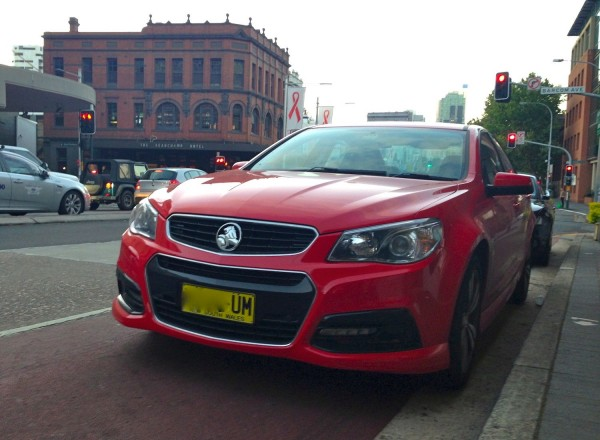 Holden Commodore Sydney December 2013