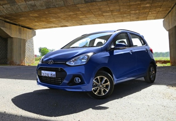 Hyundai Grand i10 India November 2013. Picture courtesy of zigwheels.com