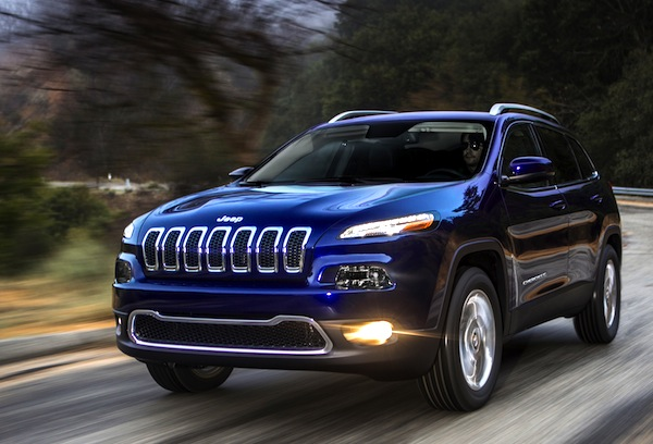 Jeep Cherokee USA February 2014. Picture courtesy of motor trend.com