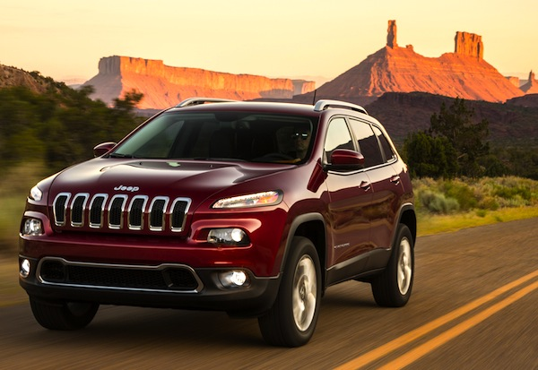 Jeep Cherokee USA May 2014. Picture courtesy of motortrend.com