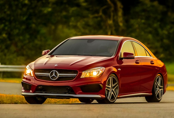 Mercedes CLA Hong Kong September 2014. Picture courtesy of motortrend.com