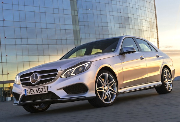 Mercedes E-Class South Korea July 2014