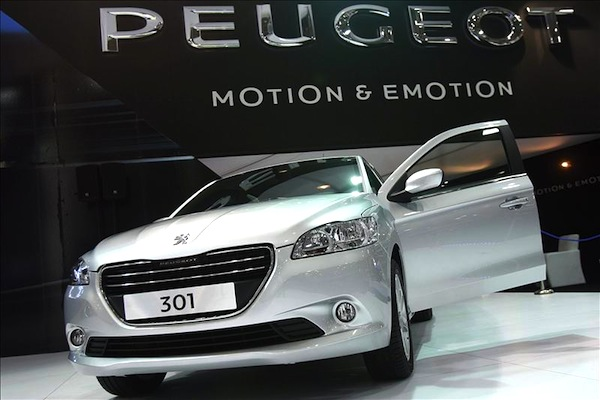 Peugeot 301 New Caledonia November 2013. Picture courtesy of autocity.com