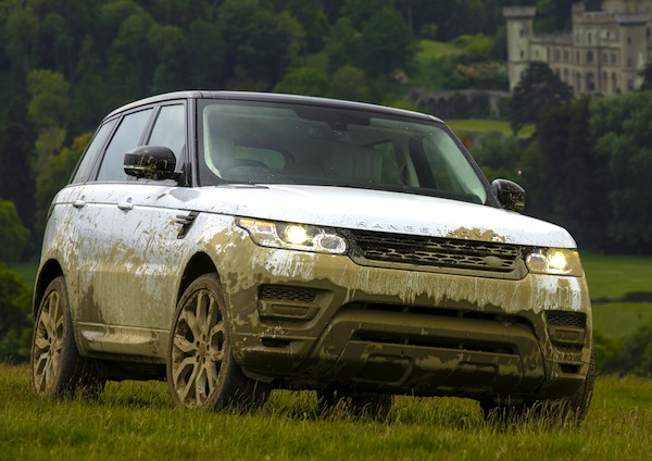 Range Rover Sport Romania November 2013