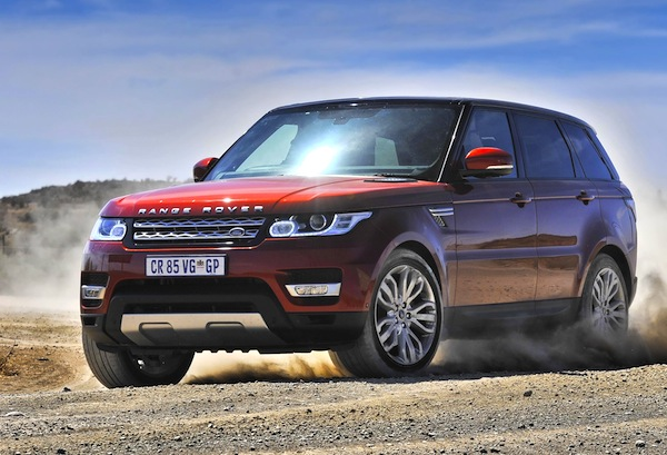 Range Rover Sport South Africa November 2013
