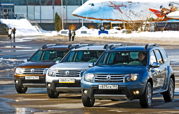 Renault Duster Russia 2013. Picture courtesy of zr.ru