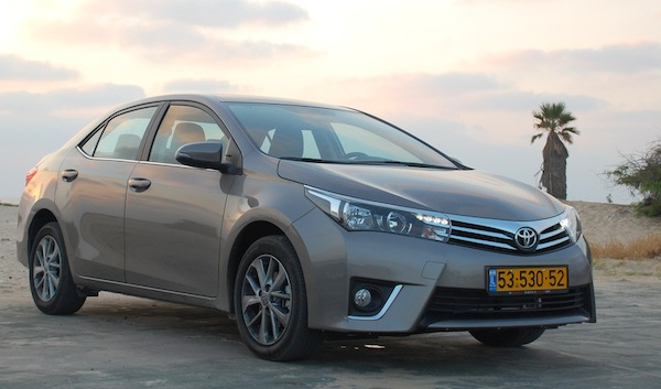 Toyota Corolla Israel November 2013. Picture courtesy of carsforum.co.il