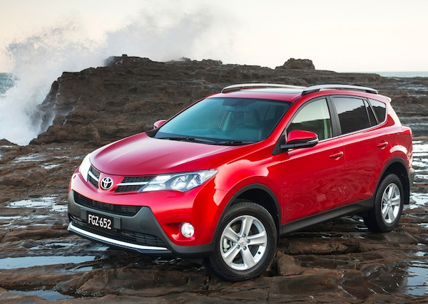 Toyota RAV4 New Zealand November 2013