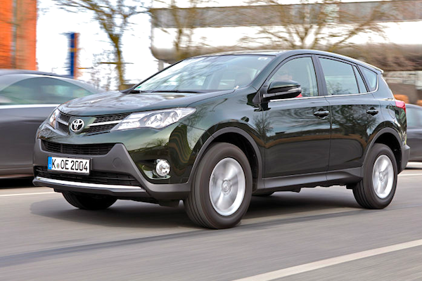 Toyota RAV4 Sweden November 2013. Picture courtesy of Autobild.de