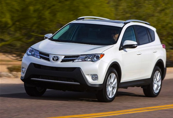 Toyota RAV4 USA January 2014. Picture courtesy of motortrend.com
