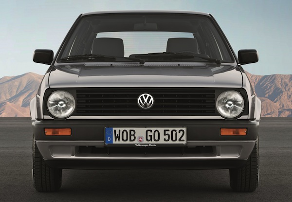 VW Golf Europe 1984