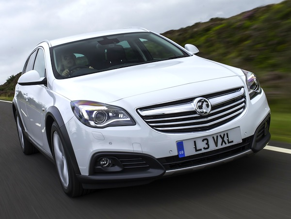 Vauxhall Insignia UK November 2013