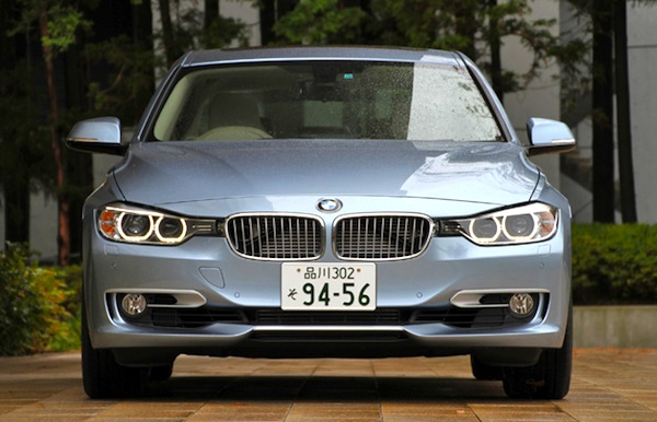 BMW 3 Series Japan December 2013. Picture courtesy of autoc-one.jp
