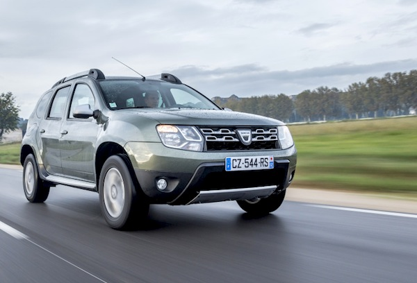 Dacia Duster New Caledonia July 2015. Picture courtesy of largus.fr