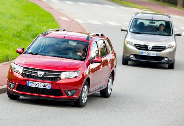 Dacia Logan MCV Lodgy Romania 2013. Picture courtesy of largus.fr