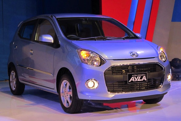 Daihatsu Ayla Indonesia December 2013. Picture courtesy of otomotifnet.com
