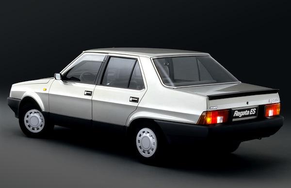Fiat Regata Italy 1984