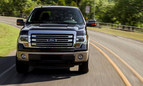 Ford F Series USA 2013. Picture Courtesy Of Caranddriver.com