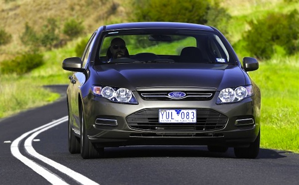 Ford Falcon Australia December 2013. Picture courtesy of nrma