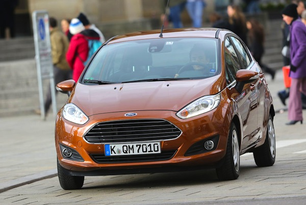 Ford Fiesta Germany July 2014. Picture courtesy of autobild.de