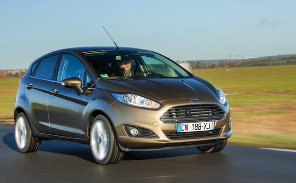 Ford Fiesta UK 2013. Picture courtesy of largus.fr