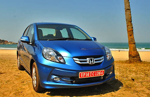 Honda Amaze India 2013. Picture courtesy of Yahoo India