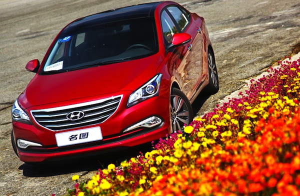 Hyundai Mistra China June 2014. Picture courtesy of auto.sohu.com