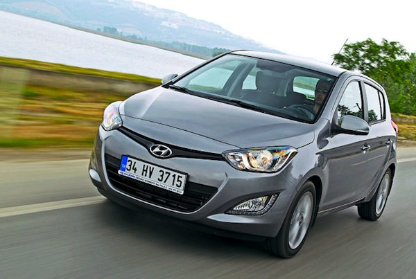 Hyundai i20 Greece June 2014. Picture courtesy of autobild.de