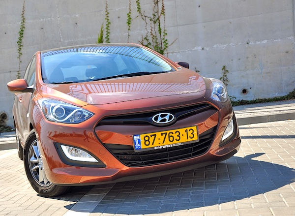 Hyundai i30 Israel 2013. Picture courtesy of autosport.co.il