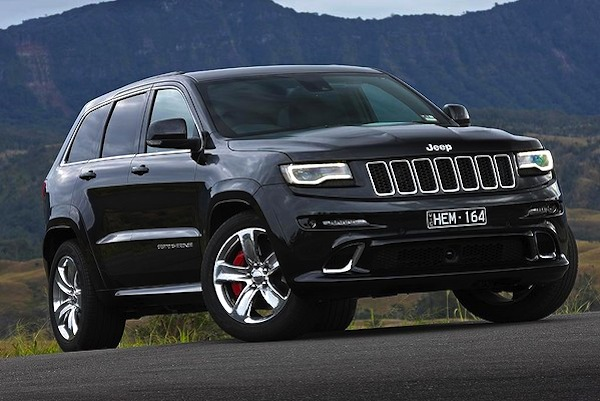 Jeep Grand Cherokee Australia December 2013. Picture courtesy of drive.com.au