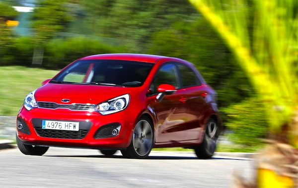 Kia Rio Paraguay 2013. Picture courtesy of largus.fr