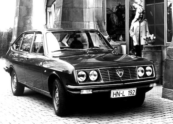 Lancia Beta Italy 1974