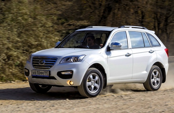 Lifan X60 Russia 2013. Picture courtesy of zr.ru