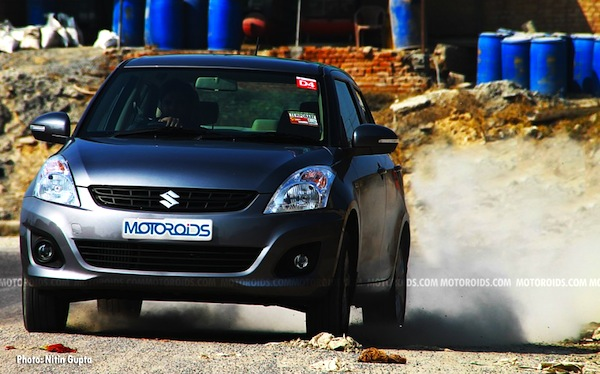 Maruti DZire India 2013. Picture courtesy of Motoroids
