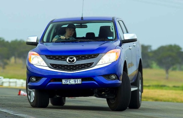 Mazda BT-50 Australia 2013. Picture courtesy of drive.com.au