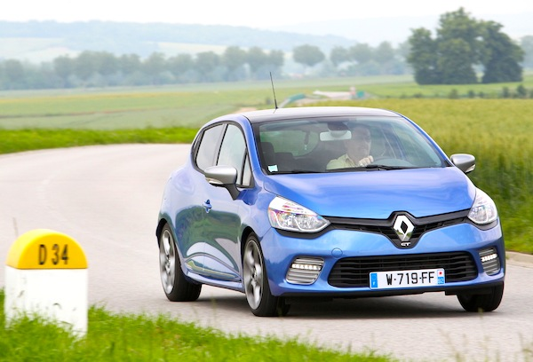 Renault Clio Europe 2013. Picture courtesy of largus.fr