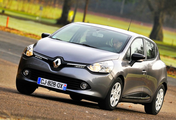 Renault Clio Northern Ireland 2013. Picture courtesy of hamms.ru