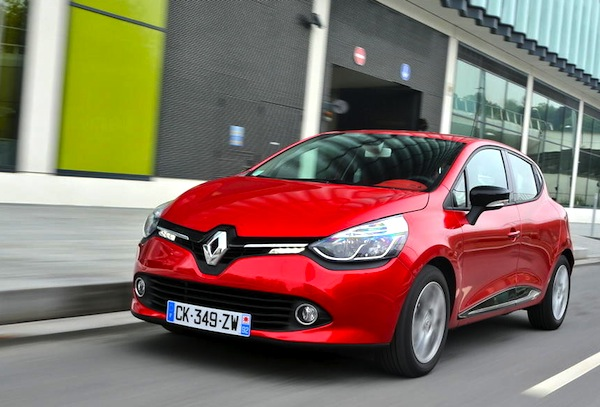 Renault Clio Netherlands April 2015. Picture courtesy of largus.fr