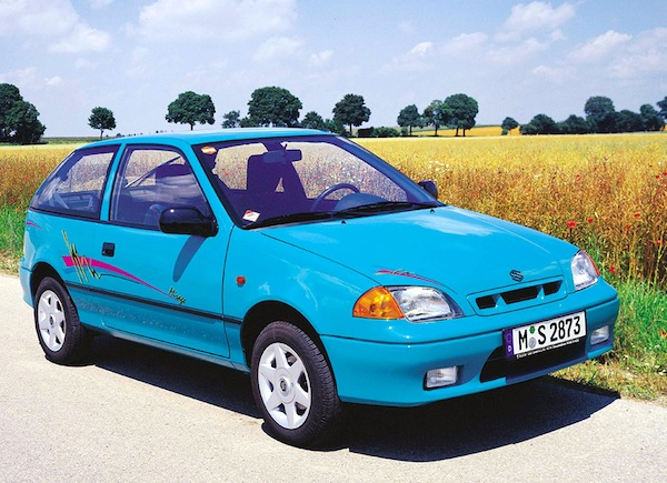 Suzuki Swift Hungary 1999